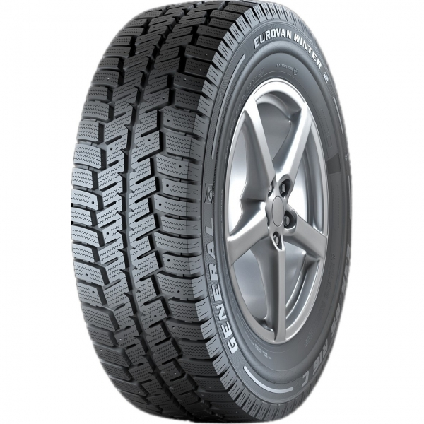 GENERAL TIRE EUROVAN WINTER 2 195/65R16C 104/102R